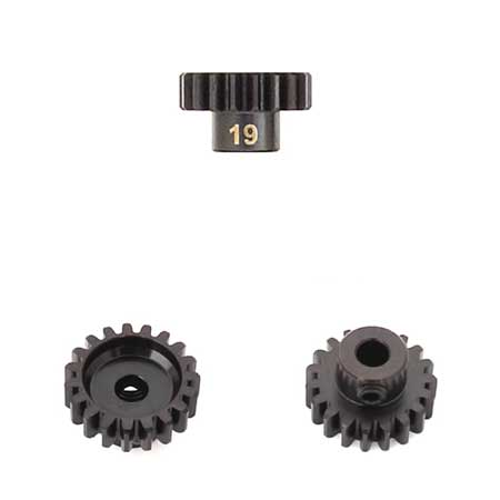 M5 Pinion Gear (19t, MOD1, 5mm bore, M5 set screw)-RC CAR PARTS-Mike's Hobby