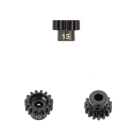 M5 Pinion Gear (15t, MOD1, 5mm bore, M5 set screw)-RC CAR PARTS-Mike's Hobby
