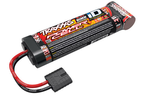 Traxxas Power Cell 7-Cell Stick NiMH Battery Pack w/iD Connector (8.4V/3000mAh)-TRAXXAS-Mike's Hobby