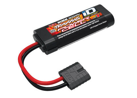 Traxxas SERIES 1 1200mAh 7.2V 6C Flat 2/3A NiMH with Auto Battery iD TRA2925X-BATTERY-Mike's Hobby