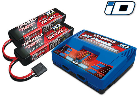 Traxxas 2990 Dual 3S Completer Pack-CHARGER-Mike's Hobby