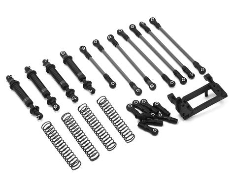 Traxxas TRX-4 Complete Long Arm Lift Kit (Black)-Mike's Hobby