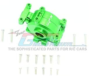 Aluminum Front Gear Box - 1 Set Green-RC CAR PARTS-Mike's Hobby