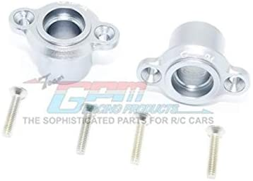 Aluminum Rear Axle Adapters - 1Pr Set Silver-RC CAR PARTS-Mike's Hobby
