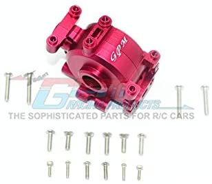 Aluminum Front Gear Box - 1 Set Red-RC CAR PARTS-Mike's Hobby