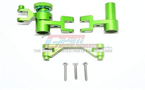 Aluminum Steering Assembly - 1 Set Green-RC CAR PARTS-Mike's Hobby