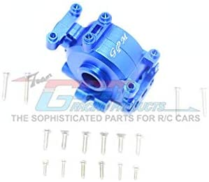 Aluminum Front Gear Box - 1 Set Blue-RC CAR PARTS-Mike's Hobby