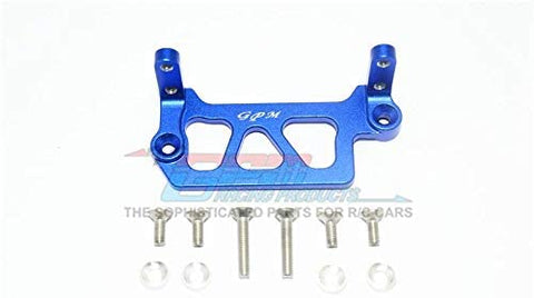 Aluminum Servo Mount - 1Pc Set Blue-RC CAR PARTS-Mike's Hobby