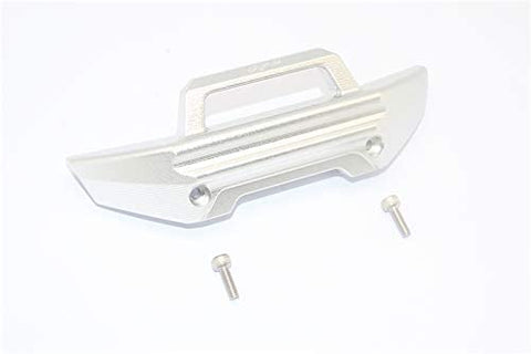 Aluminum Front Bumper -3PC Set (Silver)-RC CAR PARTS-Mike's Hobby