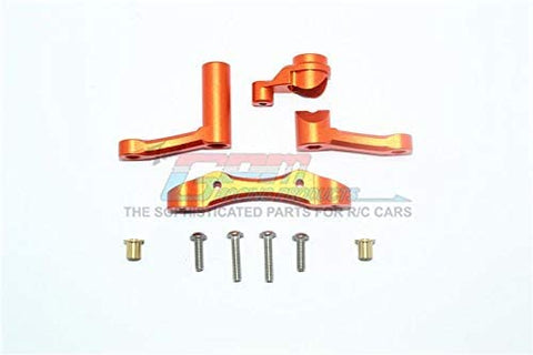 Aluminum Steering Assembly - 1 Set Orange-RC CAR PARTS-Mike's Hobby