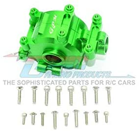 Aluminum Front Gear Box -18Pc Set Green-RC CAR PARTS-Mike's Hobby