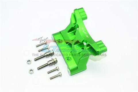 Aluminum Front Damper Mount - 1 Set Green-RC CAR PARTS-Mike's Hobby