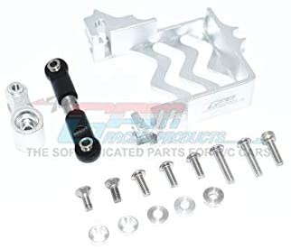 Aluminum Servo Mount + Stainless Steel Tie Rod + 25T Aluminum Servo Horn - 16Pc Set-Mike's Hobby
