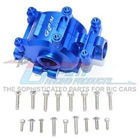 Aluminum Front Gear Box -18Pc Set Blue-RC CAR PARTS-Mike's Hobby