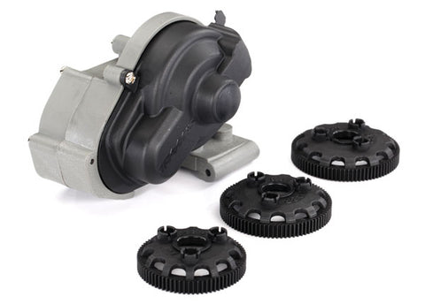 TRAXXAS 3695 - Transmission, complete (fits 1/10-scale 2WD Rustler, Bandit, Stampede, Slash)-PARTS-Mike's Hobby