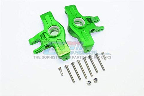 Aluminum Front Knuckle Arms - 1Pr Set Green-RC CAR PARTS-Mike's Hobby