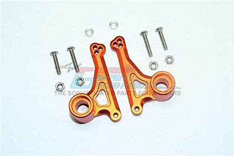 Aluminum Front Rocker Arm Set - 1Pr Set Orange-RC CAR PARTS-Mike's Hobby