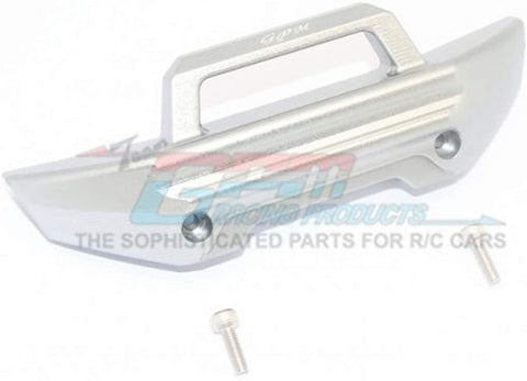 Aluminum Front Bumper -3PC Set (Gray)-RC CAR PARTS-Mike's Hobby