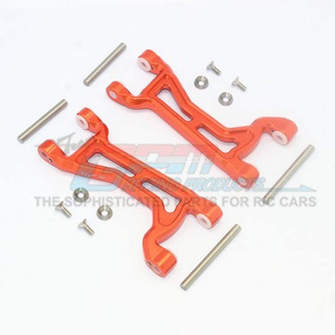 Aluminium Front/Rear Upper ARMS -14PC Set Orange-RC CAR PARTS-Mike's Hobby