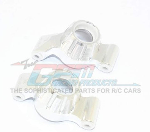 Aluminum Rear Knuckle ARM -2PC Set (Silver)-Mike's Hobby