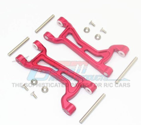 Aluminium Front/Rear Upper ARMS -14PC Set Red-RC CAR PARTS-Mike's Hobby