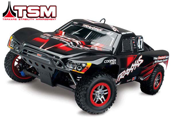 Traxxas Slayer Pro 4X4: 1/10-Scale Nitro-Powered 4WD Short Course Racing Truck RTR-Cars & Trucks-Mike's Hobby