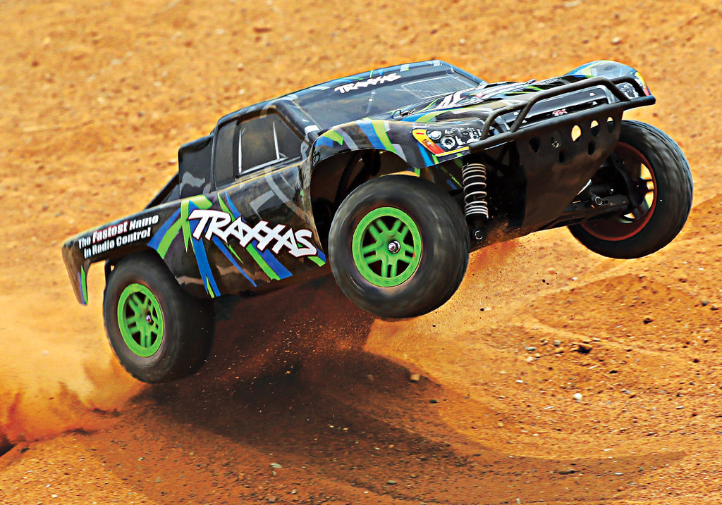 Traxxas Slash 4x4 1 10 Scale 4wd Brushed Electric Short Course Truck Mike S Hobby