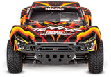 Traxxas Slash 4X4: 1/10 Scale 4WD Brushed Electric Short Course Truck RTR-Cars & Trucks-Orange/Red-Mike's Hobby