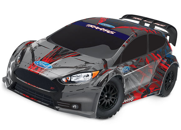 Traxxas Ford Fiesta® ST Rally: 1/10 Scale Electric Rally Racer RTR-Cars & Trucks-Mike's Hobby