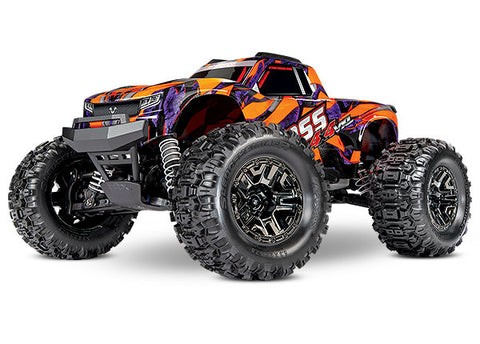 Hoss 4X4 VXL: 1/10 Scale Monster Truck with TQi Traxxas Link™ Enabled 2.4GHz Radio System & Traxxas Stability Management (TSM)-Mike's Hobby