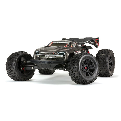 1/8 KRATON 4WD EXtreme Bash Roller Speed Monster Truck, Black-Cars & Trucks-Mike's Hobby