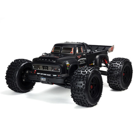 ARRMA 1/8 NOTORIOUS 6S V5 4WD BLX Stunt Truck with Spektrum Firma RTR-Cars & Trucks-Mike's Hobby