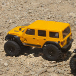 AXIAL SCX24 2019 Jeep Wrangler JLU CRC 1/24 4WD-RTR YELLOW-Cars & Trucks-Mike's Hobby