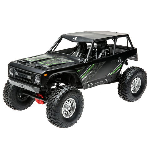 1/10 Wraith 1.9 4WD Rock Crawler Brushed RTR, Black-Cars & Trucks-Mike's Hobby
