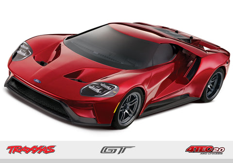 TRAXXAS 4-Tec 2.0 1/10 RTR Touring Car w/Ford GT Body-Cars & Trucks-Mike's Hobby