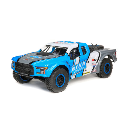 Losi 1/10 King Shocks Ford Raptor Baja Rey 4WD Brushless RTR with SMART-Cars & Trucks-Mike's Hobby
