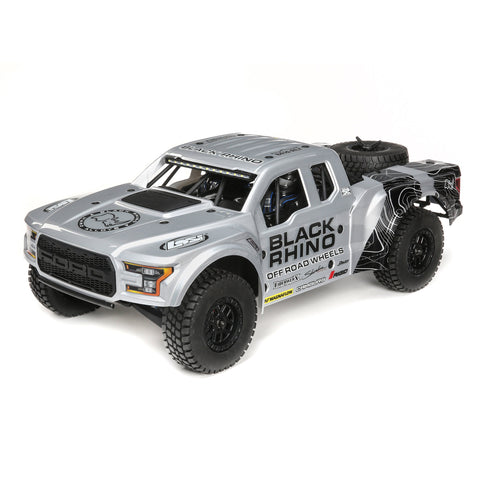 Losi Black Rhino Ford Raptor Baja Rey 4WD Brushless 1/10 RTR with SMART-Cars & Trucks-Mike's Hobby