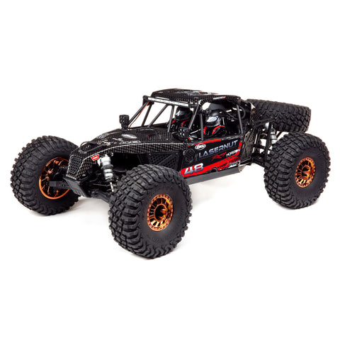 Losi, Lasernut U4 Black, SMART ESC: 1/10 4WD RTR, LOS03028T2-Cars & Trucks-Mike's Hobby