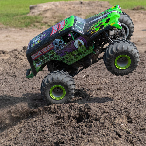 Losi LMT Grave Digger RTR 1/10 4WD Solid Axle Monster Truck-RC CAR-Mike's Hobby