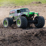 LMT:4wd Solid Axle Monster Truck, Grave Digger:RTR-Cars & Trucks-Mike's Hobby