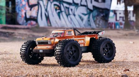 1/10 OUTCAST 4x4 4S BLX Brushless Truggy RTR, Bronze-Cars & Trucks-Mike's Hobby