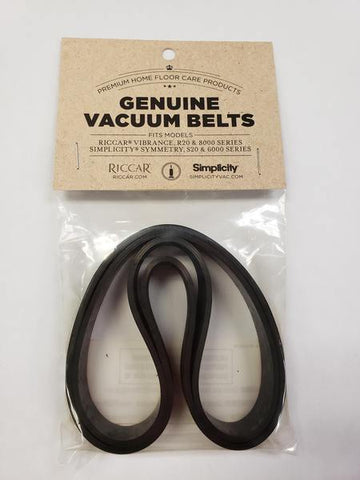 RICCAR VIBRANCE BELTS 2 PACK-VACUUM ACCESSORY-Mike's Hobby