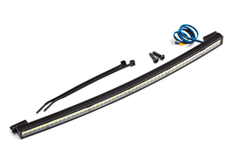 TRA8488 LED light bar, roof (curved, high-voltage) (52 white LEDs (single row), 202mm wide)-LED Lighting-Mike's Hobby