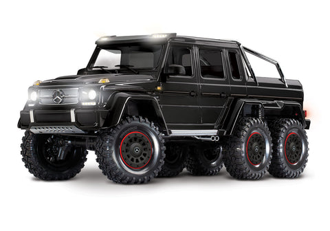 88096-4 - TRX-6™ Scale and Trail™ Crawler with Mercedes-Benz® G 63® AMG Body: 1/10 Scale 6X6 Electric Trail Truck. Ready-to-Drive-RC CAR PARTS-Mike's Hobby