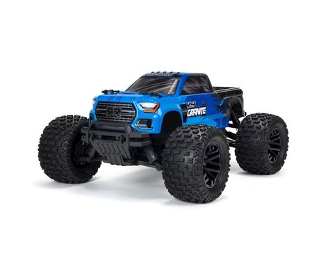 Arrma Granite 4x4 V3 550 Mega RTR Monster Truck (Blue) w/Spektrum SLT3 2.4GHz Radio-Cars & Trucks-Mike's Hobby
