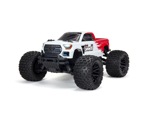Arrma Granite 4x4 V3 550 Mega RTR Monster Truck (Red) w/Spektrum SLT3 2.4GHz Radio-Cars & Trucks-Mike's Hobby