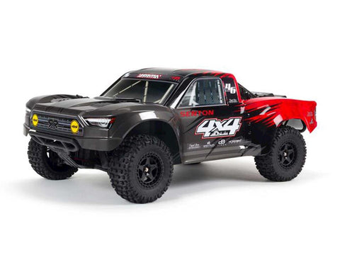 Arrma Senton 4x4 V3 550 Mega RTR 1/10 Short Course Truck (Red) w/Spektrum SLT3 2.4GHz Radio-Cars & Trucks-Mike's Hobby