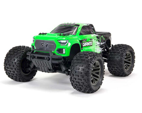 Arrma Granite 4X4 V3 3S BLX 1/10 RTR Brushless 4WD Monster Truck (Green) w/Spektrum SLT3 2.4GHz Radio-Cars & Trucks-Mike's Hobby