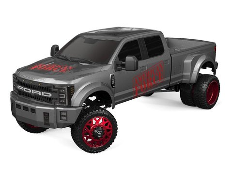 CEN Ford F450 SD 1/10 RTR Custom Dually Truck (Grey Titanium) w/2.4GHz Radio-Cars & Trucks-Mike's Hobby