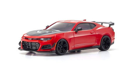 KYOSHO, Mini-Z RWD MR-03 Chevrolet Camaro ZL1 1LE Red Hot Readyset, KYO32339R-Cars & Trucks-Mike's Hobby